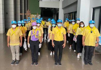 โรงพยาบาลสนาม ศูนย์ห่วงใยคนสุพรรณบุรี ที่ 2 ณ มหาวิทยาลัยเกษตรศาสตร์ วข.สุพรรณบุรี